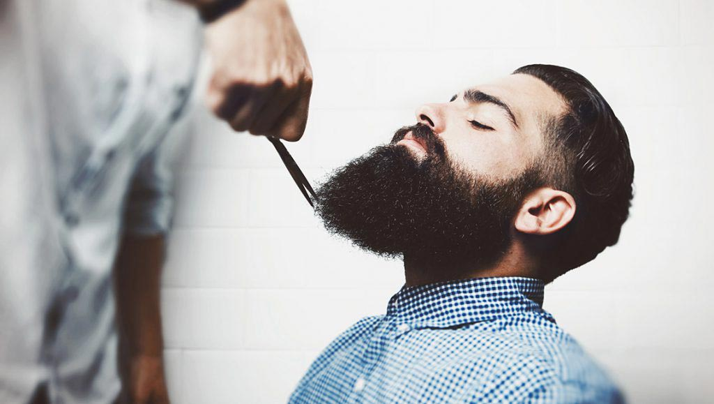 Gentlemen's Hairdressers Grooming Beard and Cutting